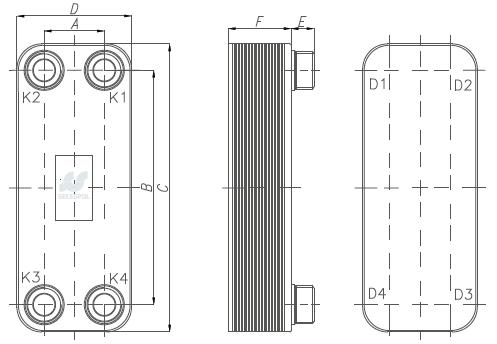 Подогреватель низкого давления ПН 100-16-4 III Уссурийск